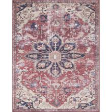 """Lucca Rust Ivory Rug - 2'-3"""" x 3'-9"""""""