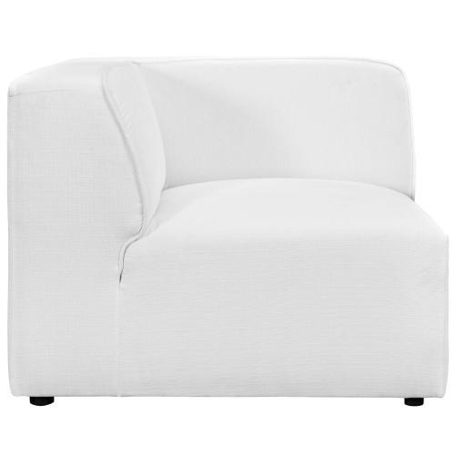 Mingle Corner Sofa in White
