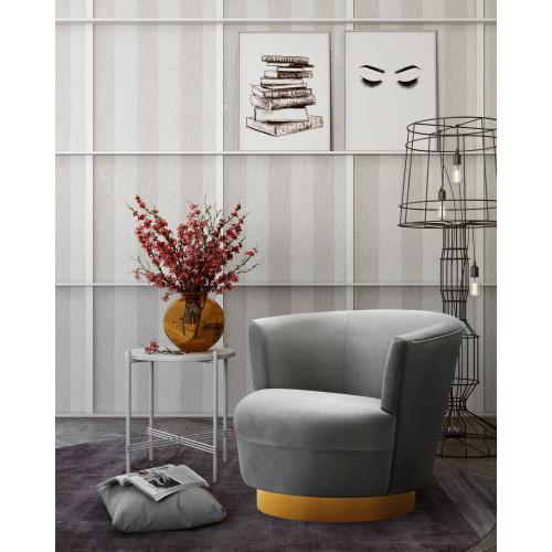 Noah Grey Swivel Chair