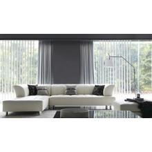 Divani Casa 2335 Modern White Bonded Leather Sectional Sofa