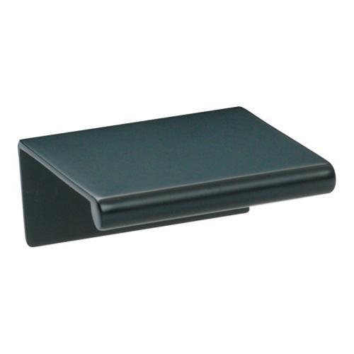 Atlas Homewares - Tab Edge Pull 1 1/4 Inch (c-c) - Matte Black