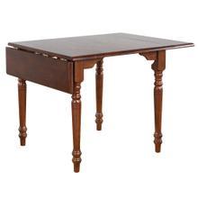 See Details - Drop Leaf Dining Table - Chestnut