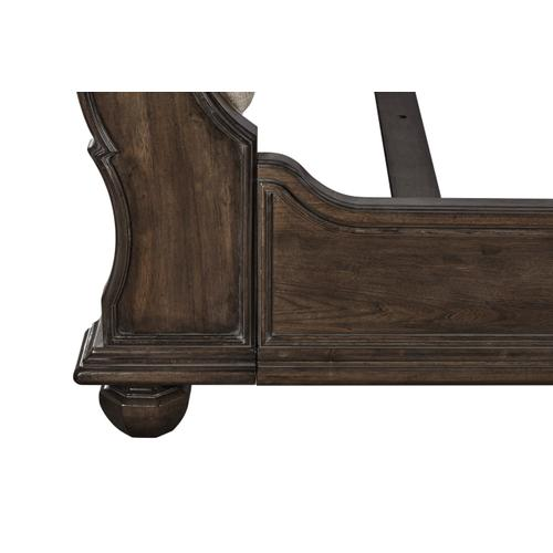 A.R.T. Furniture - Vintage Salvage King Lanza Upholstered Tufted Bed