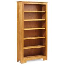 View Product - Shaker Wide Bookcase, 5 Adjustable Shelves / 43