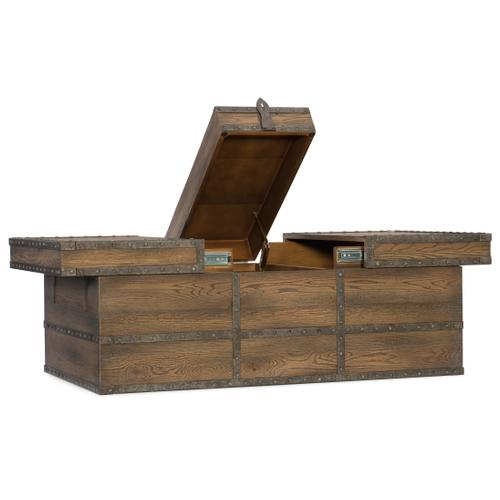 Pinta Trail Strong Box Cocktail Table