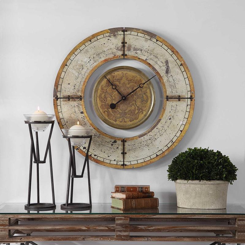 Ezekiel Wall Clock