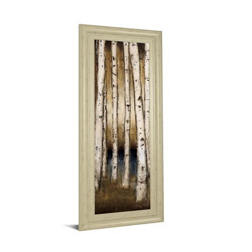 """Birch Landing I"" By St Germain Framed Print Wall Art"