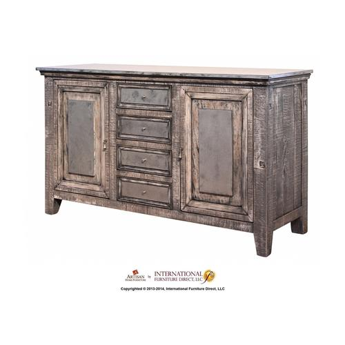 Artisan Home Furniture - Zinc Table Top (Solid/seam-less top)