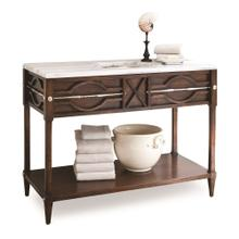 See Details - Spindle Sink Chest - Walnut