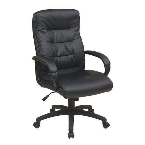 High Back Faux Leather Executive Chair