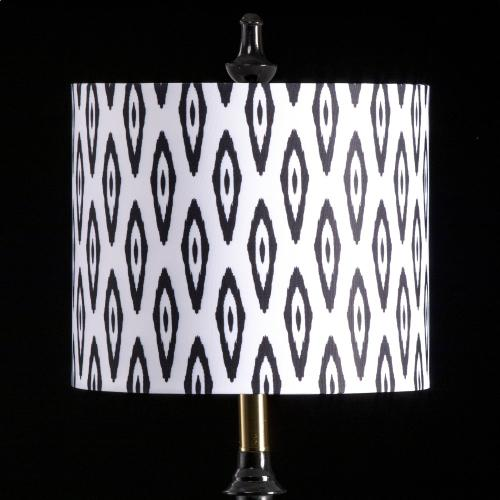 IKAT MIXOLOGY SHADE  SMALL  10in X 12in  Available in three sizes this lighting collection has a