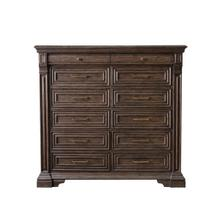 See Details - Bedford Heights 12 Drawer Master Chest in Estate Brown
