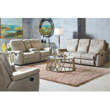 Boardwalk Manual Motion Recliner, Stone