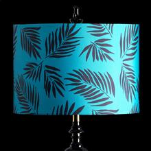 TEAL PALM MIXOLOGY SHADE  MEDIUM  11in X 16in  Available in three sizes this lighting collection