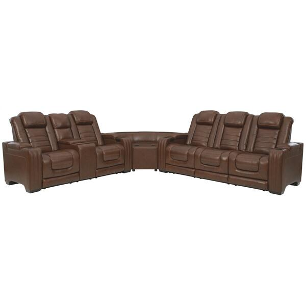 See Details - Backtrack 3-piece Power Reclining Sectional