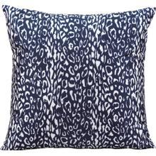 """Outdoor Pillows As524 Navy 20"""" X 20"""" Throw Pillow"""