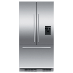 "Fisher & PaykelIntegrated French Door Refrigerator Freezer, 36"", Ice & Water"