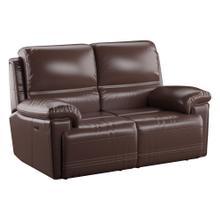 See Details - Power Loveseat W/power Headrest-brown