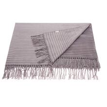 "Throw Sz007 Steel Grey 50"" X 70"" Throw Blanket"