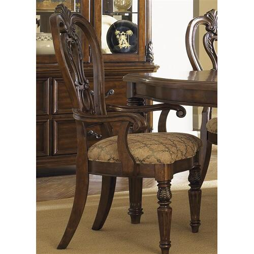 Liberty Furniture Industries - Splat Back Arm Chair