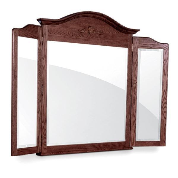 See Details - Arch Top Tri-View Mirror, 63 'w x 45 'h
