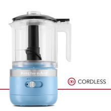 Cordless 5 Cup Food Chopper - Blue Velvet