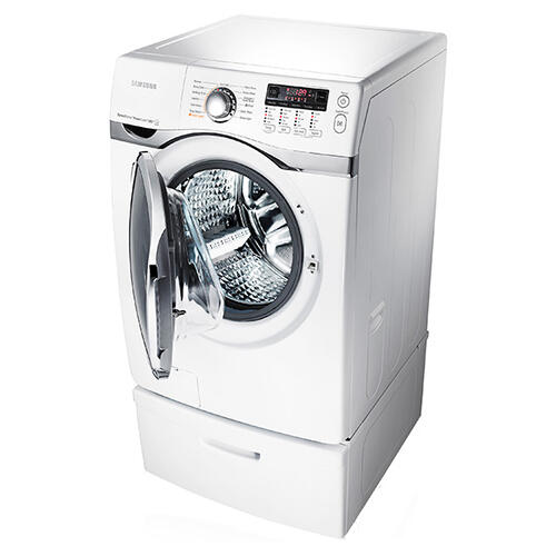 Samsung WF405ATPAWR     4.0 cu. ft. VRT , Steam and PowerFoam Front Load Washer (White)
