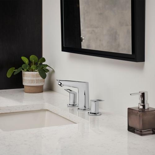 Bauloop 8-inch Widespread 2-handle M-size Bathroom Faucet 1.2 Gpm