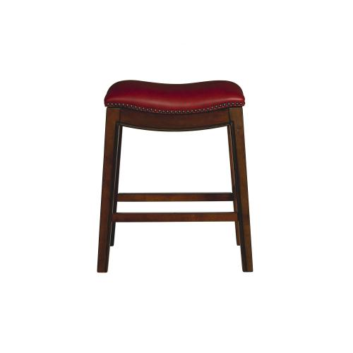 """Product Image - Fiesta 24"""" Backless Counter Height Stool in Red"""