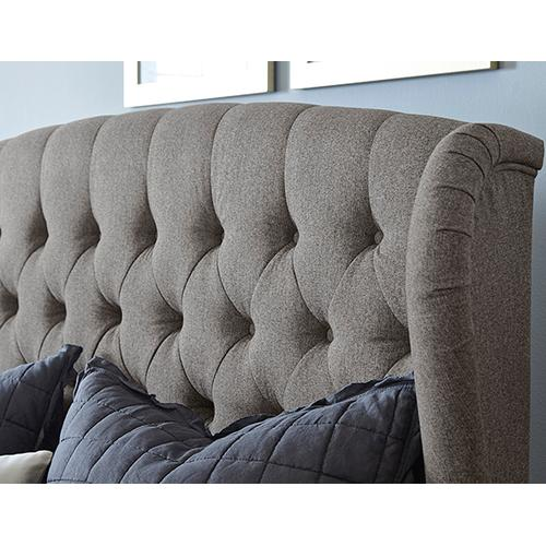 Bromley King Bed Set - Rails Included