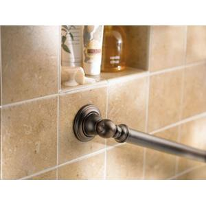 "Kingsley chrome 12"" designer grab bar"