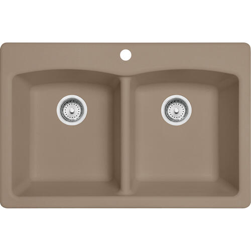 Franke - Ellipse EDOY33229-1 Granite Oyster