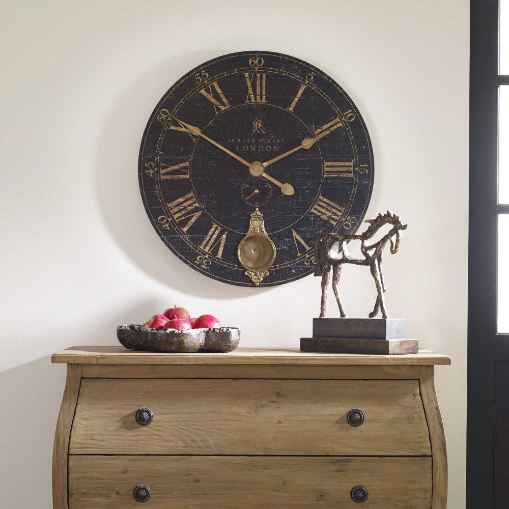 "See Details - Bond Street 30"" Wall Clock"