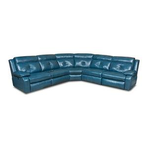 5 Piece Sectional with Recliner and Chaise