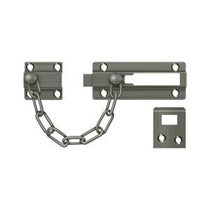 Deltana - Door Guard, Chain / Doorbolt - Antique Nickel