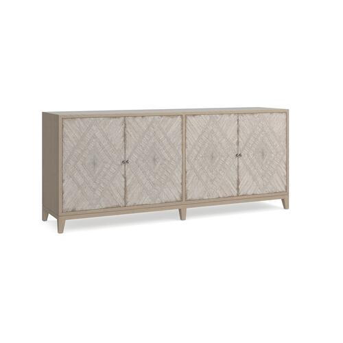 Antiquities Telluride 4 Door Credenza