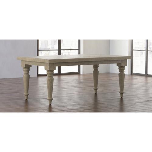 Bassett Furniture - Farmhouse Oak Leg Dining Table