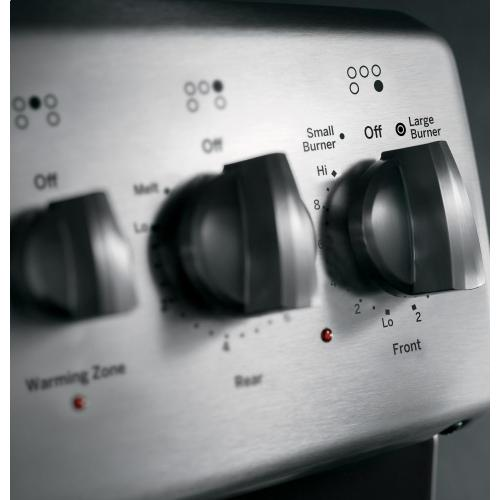 """GE Appliances - GE Profile Series 30"""" Free-Standing Double Oven Range with Convection"""
