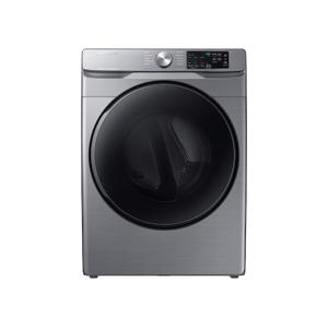 7.5 cu. ft. Electric Dryer with Steam Sanitize+ in Platinum - PLATINUM