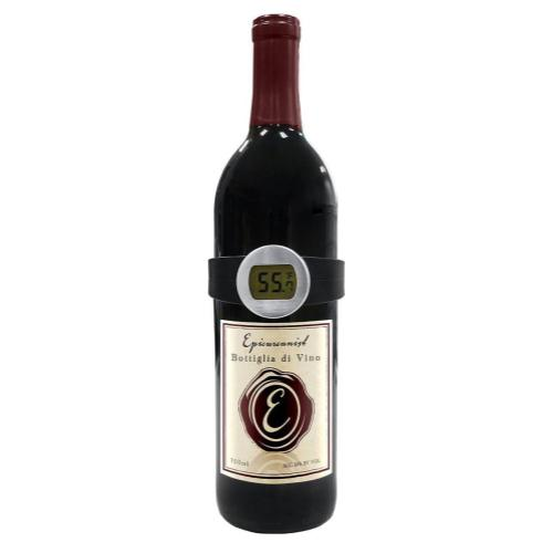 Epicureanist Wine Bottle Collar Thermometer