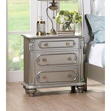 Amika Night Stand, Silver
