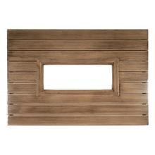 """See Details - Woodlands 42"""" x 60"""" Rectangular Fire Table Top with Burner Cover"""