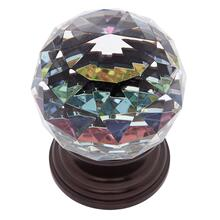 Old World Bronze 50 mm Round Prism Knob