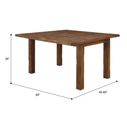 Emerald Home Furnishings - Gathering Height Butterfly Leaf Dining Table