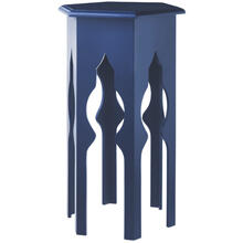 View Product - Navy Tall Side Table.