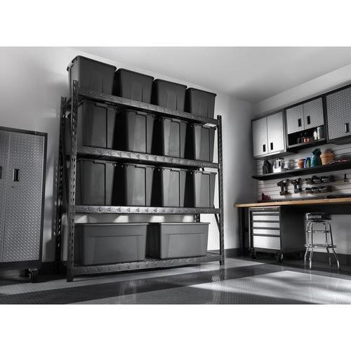 "Product Image - 90"" x 90"" Heavy Duty Mega Rack with Four Adjustable Shelves"