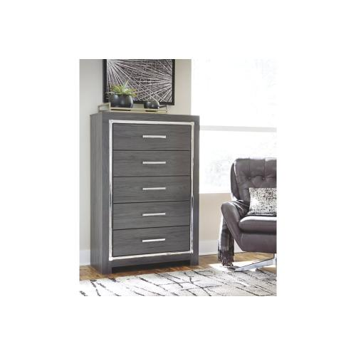 B214 Five Drawer Chest (Lodanna)