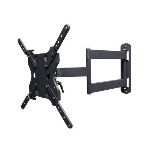 "Dual Arm Articulating (Full Motion) Outdoor Weatherproof Mount for 42"" - 65"" TV Screens & Displays - SB-WM-ART1-M-BL (Black)"
