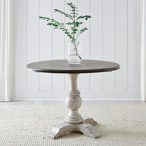 Drop Leaf Single Pedestal Top