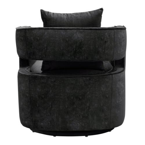 Kennedy Black Swivel Chair